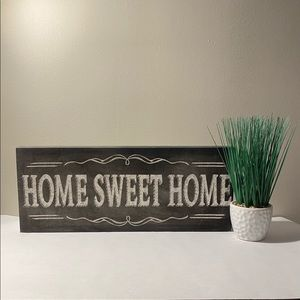"""""""Home Sweet Home"""" Wall Canvas"""